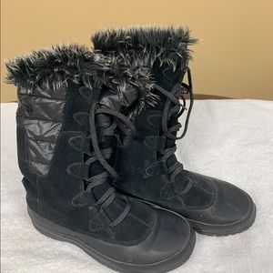 North face warm winter boots